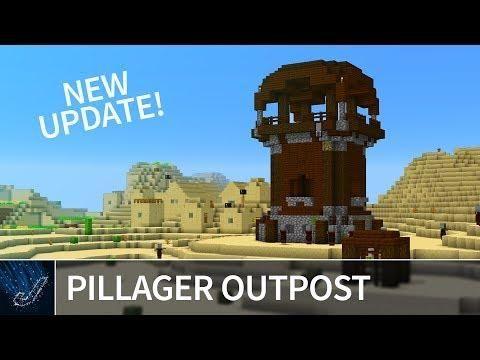 minecraft pillager update console