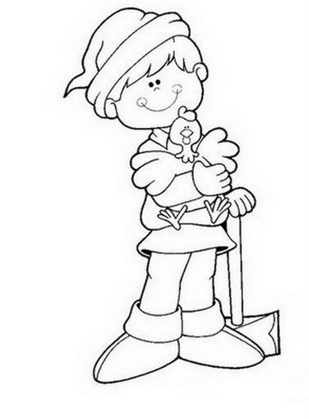 Dibujos De Pulgarcito Para Colorear Y Pintar Imprimir Dibujos Del Dibujos De Mickey Bebe Dibujos Para Colorear Dibujos