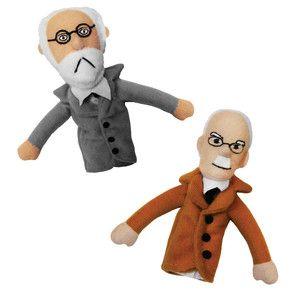 Fingerpuppen Freud