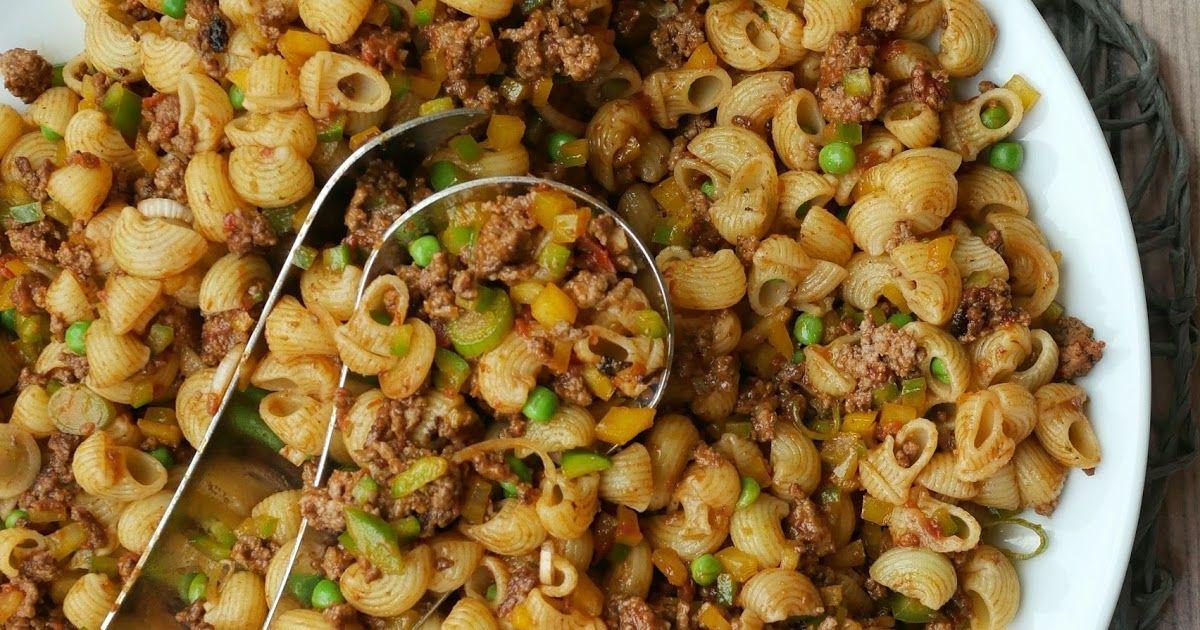 Sommerküche Kochen : Nudelsalat mit hackfleisch in 2018 babette pinterest pasta