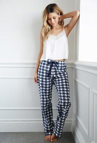 Plaid Flannel PJ Pants  1c2aec9d1