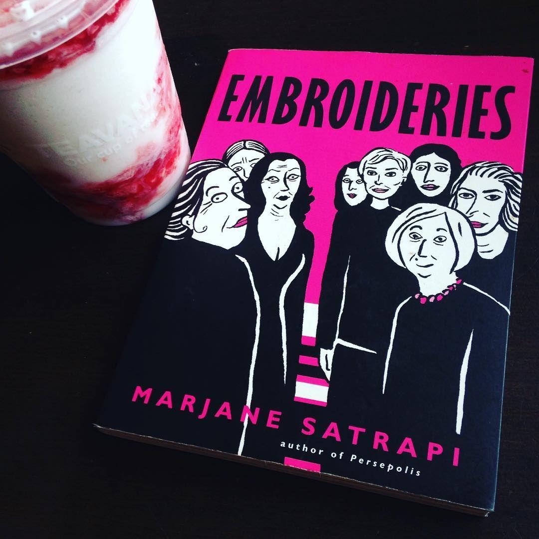13 Marjane Satrapi Embroideries Graphic Novel Reading Log 2018