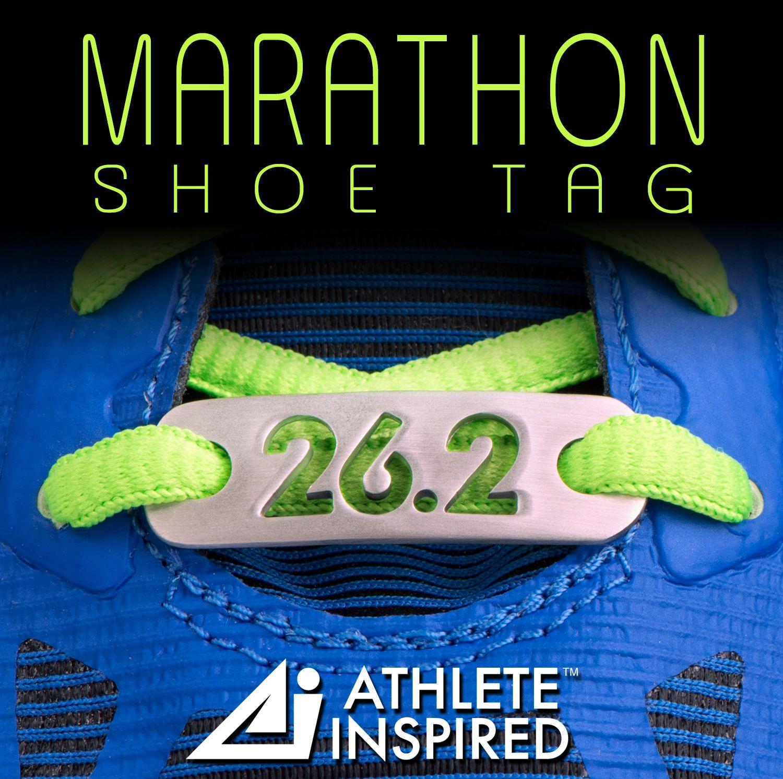 262 marathon shoe tag fits any shoe lace perfect