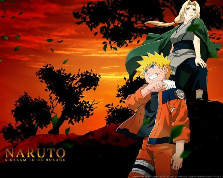 Naruto Hd Wallpapers Naruto With Tsunade Wallpaper Anime