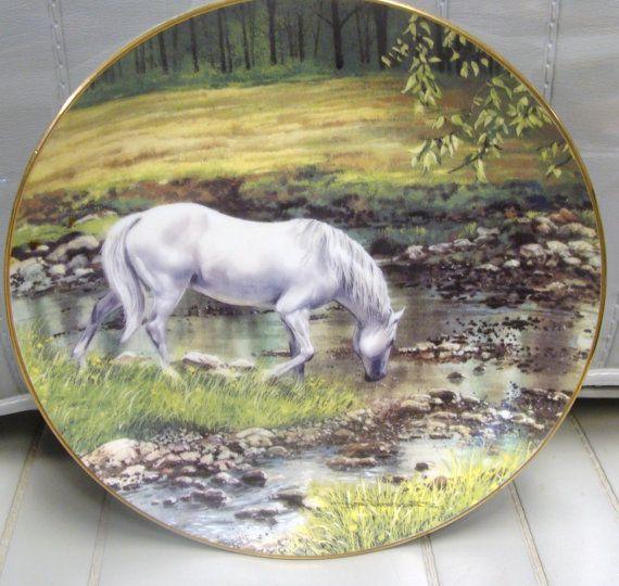 The Danbury Mint Plate   Streams Edge   1991 by neilsellers, $19.99