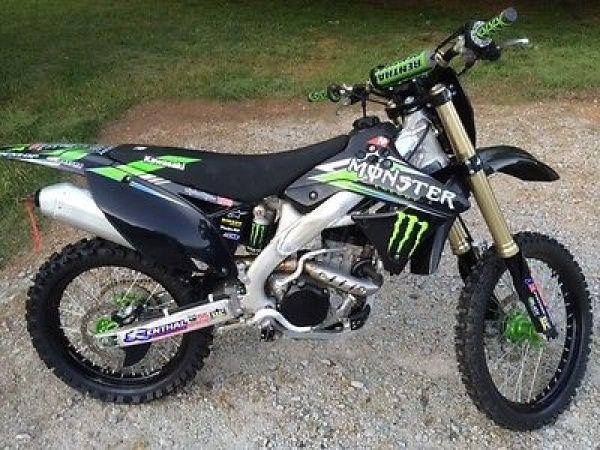 Kawasaki Kxf Monster Edition For Sale