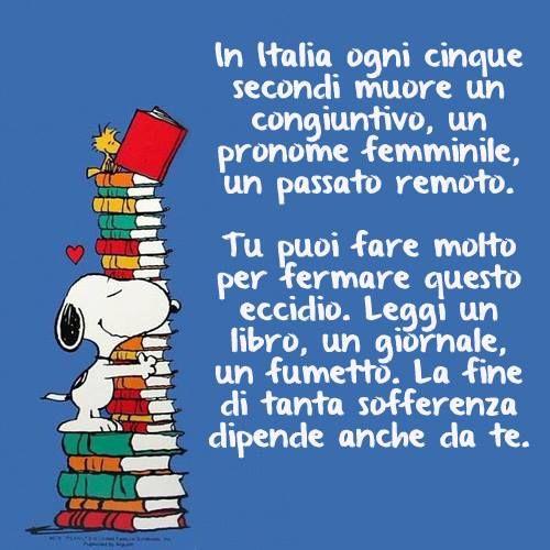Pin Di Carla Toney Su Italiamania Libri Imparare L Italiano Citazioni Snoopy