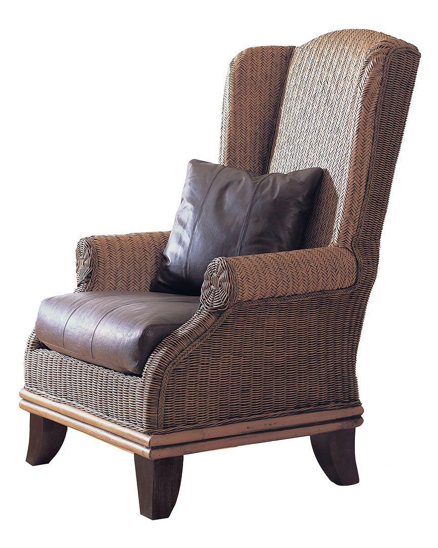 Bali wing back chair at rue la la rattan lounge chair