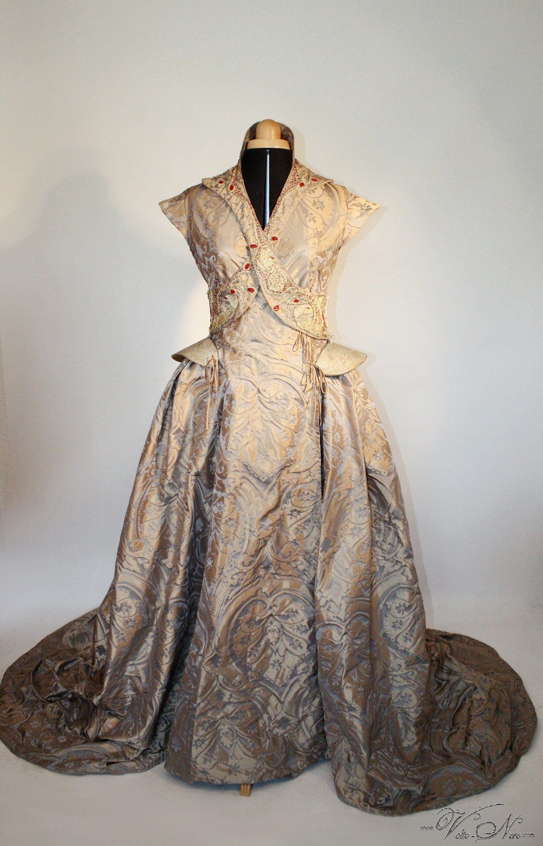 Sansa Stark Wedding Game of Thrones Costume Gown Dress