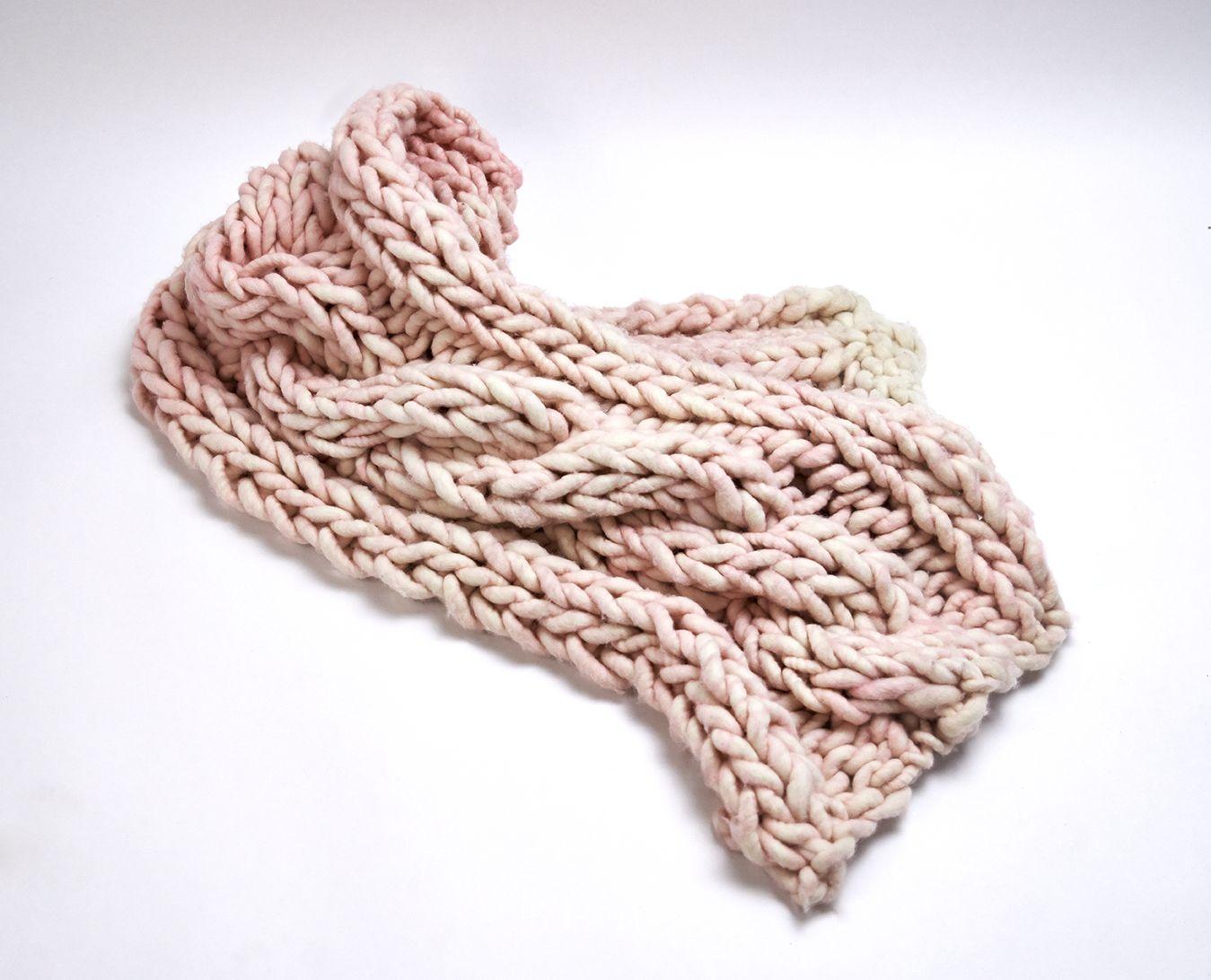 Loopy Mango St. Barth Cable Shawl - available readymade or as DIY Kit on loopymango.com