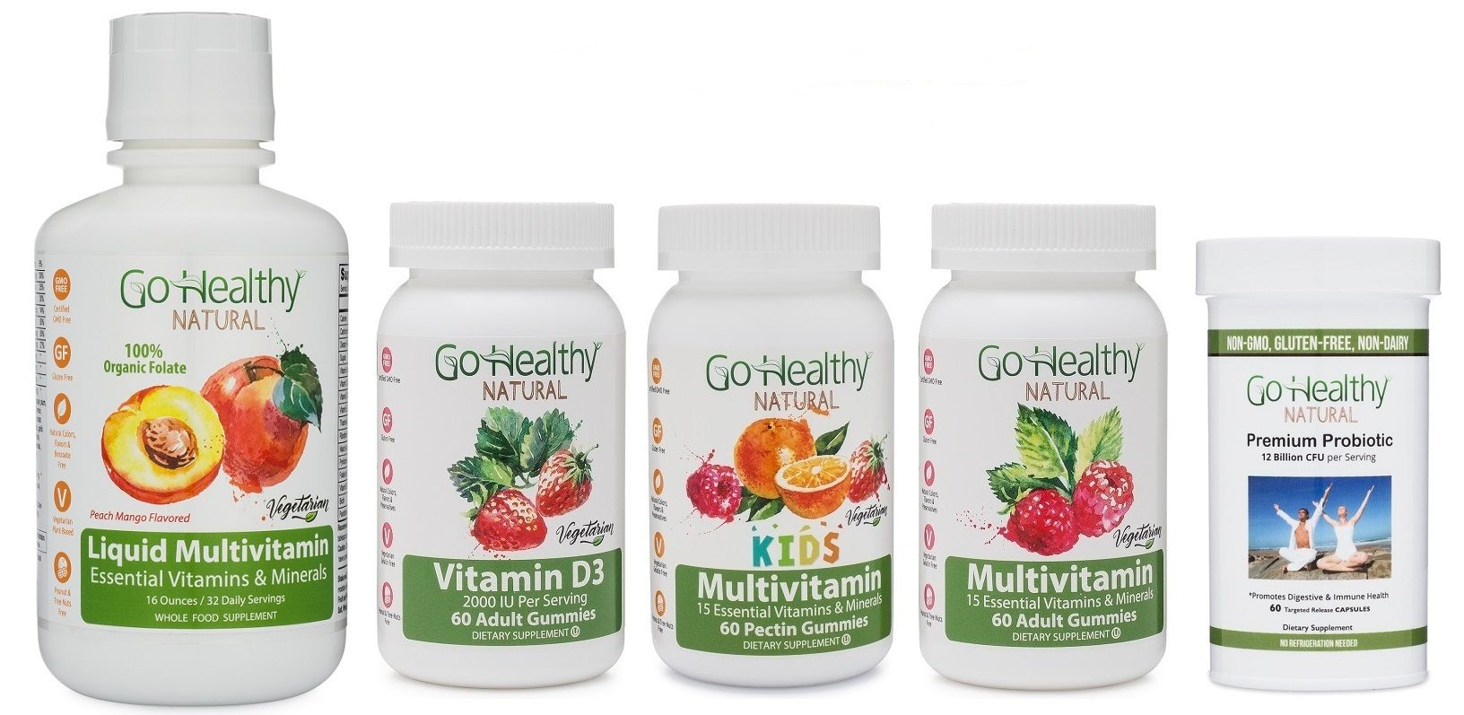 Pin by Go Healthy Natural on Vegetarian Gummy Vitamins ...
