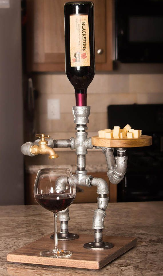 Alcohol dispenser drink servers pinterest alcohol for Mueble whisky