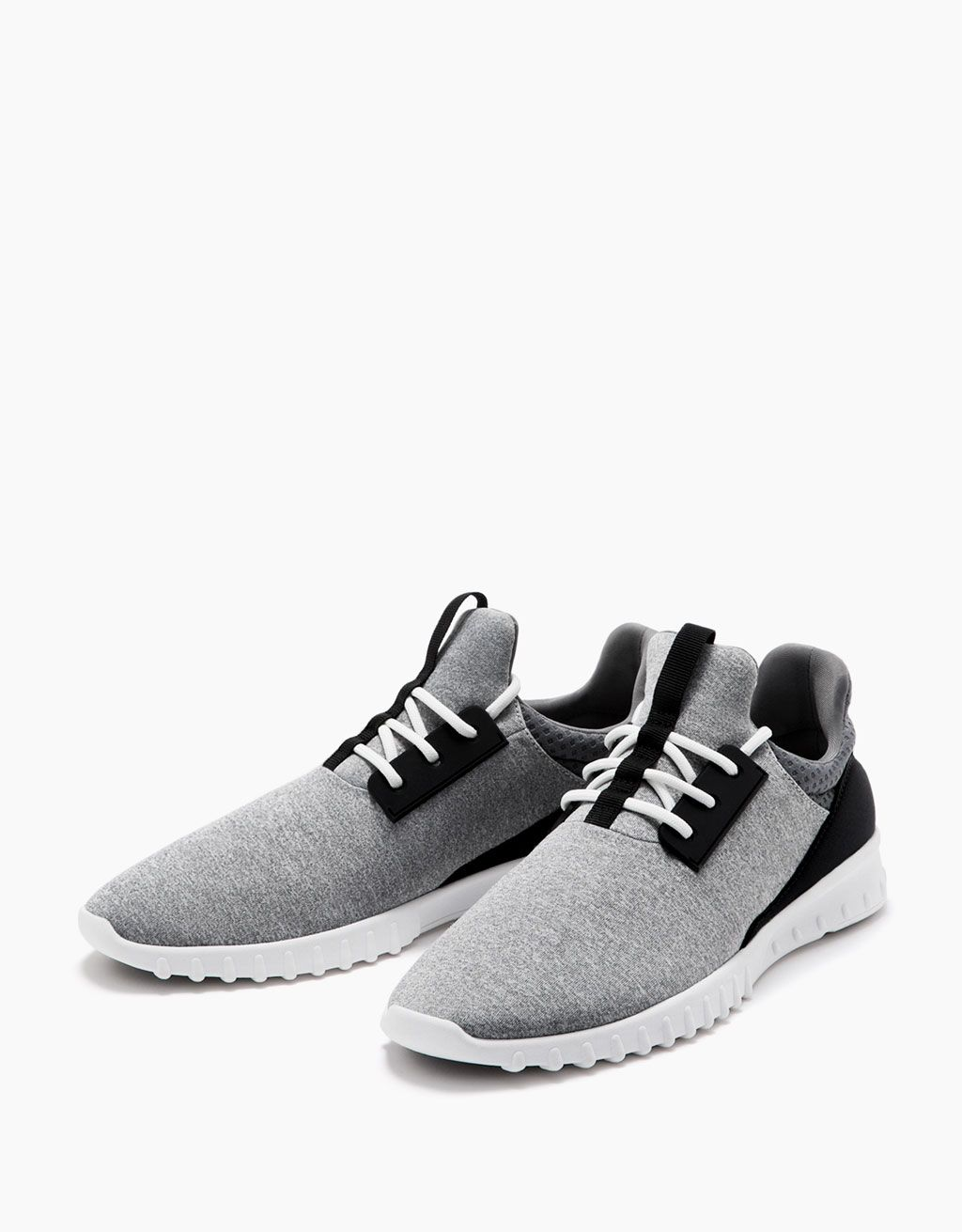 Men's technical sports shoes. Discover this and many more items in Bershka  with new products · Zapatos Para ...
