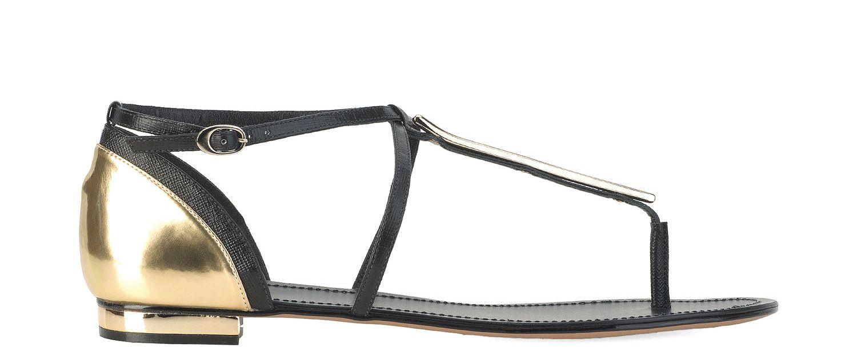 Czarno Zlote Polsandaly 24136 16404 01 00 Z Kolekcji 2014 Sklep Internetowy Kazar Kazar Sandals Shoes Fashion