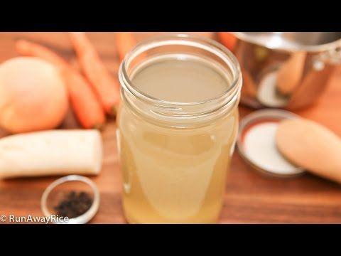 Chicken Stock (Nuoc Sup Ga, Nuoc Leo) // RunAwayRice - YouTube