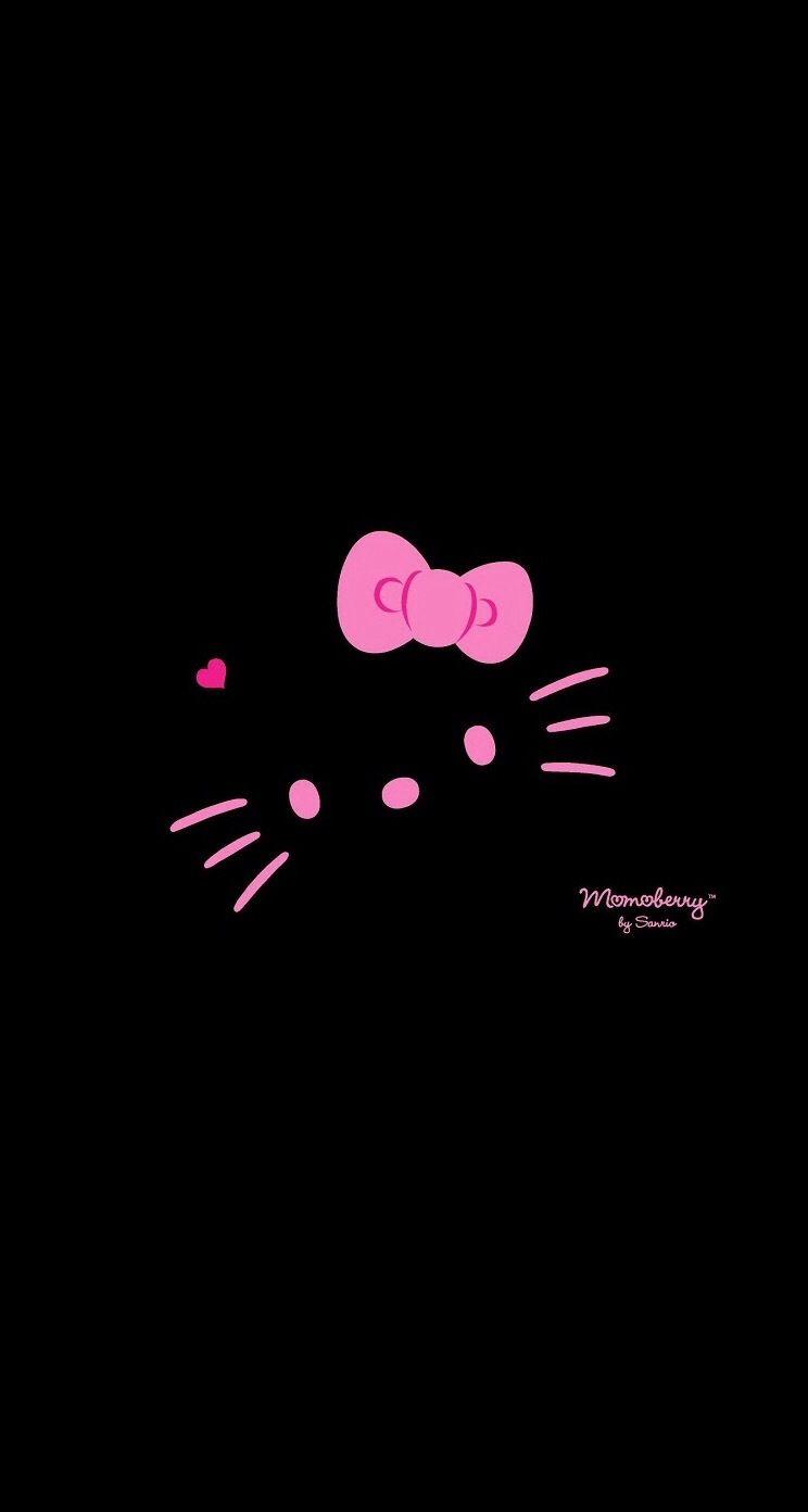Hello Kitty Dark Hello Kitty Hello Kitty Wallpaper Hello Kitty