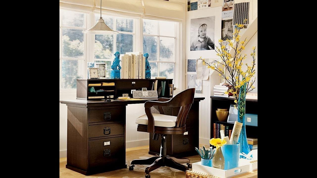 70 Amazing Small Home Office Ideas For Small Spaces Office Wall Decor 46019207 Office Decorating Themes Office D Small Home Office Home Business Office Decor