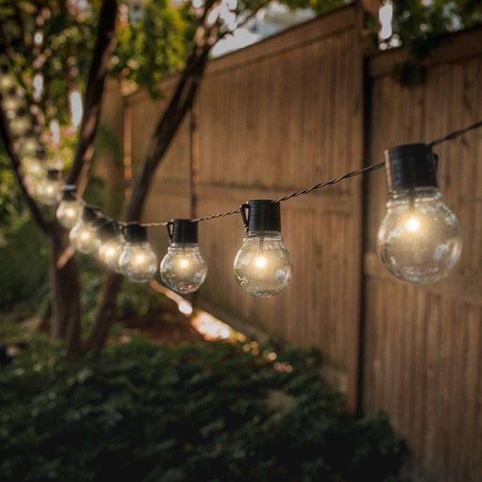 Jane.com   Touch Of ECO Solar Patio Bulb String Lights   AdoreWe.com