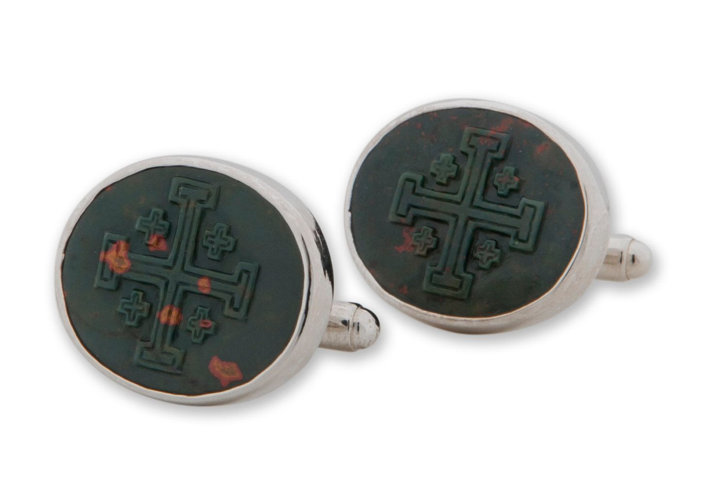 Cufflinks Rectangular Jesus The Lion and The Lamb