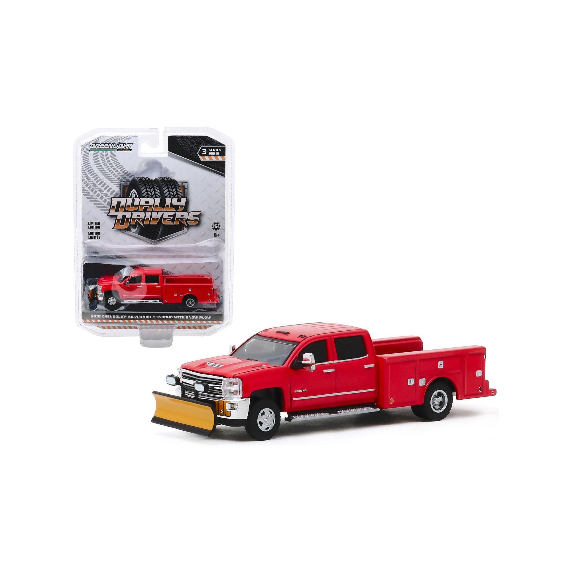 2018 Chevrolet Silverado 3500HD Dually Service Bed Truck