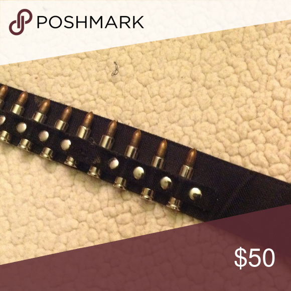 Bullet Belt Reserved For Lunafish Silver Fake Bullets On Deep Brown Calf Hair Belt Accessories Belts Calf Hair Fashion Tips Mens Bracelet