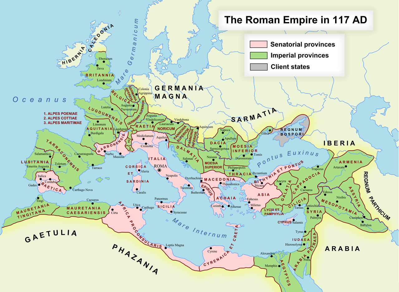 Roman empire in 117 ad 2180x1600 geology flora and fauna the roman world interactive map heritagedaily heritage archaeology news gumiabroncs Image collections