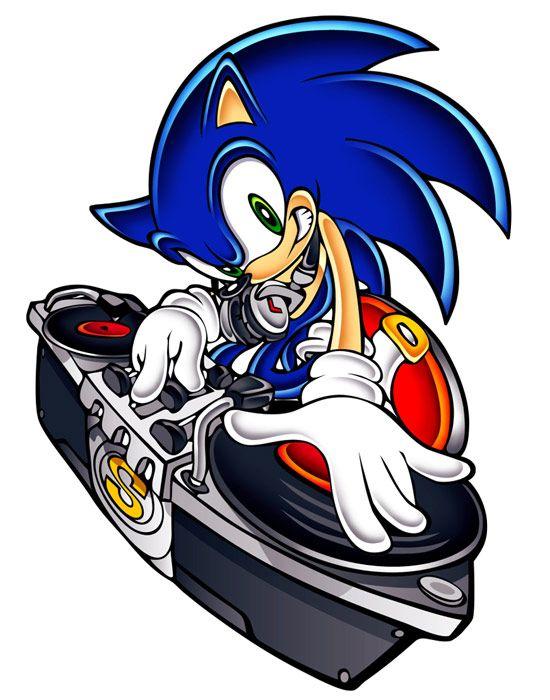 Dj Sonic By Yuji Uekawa