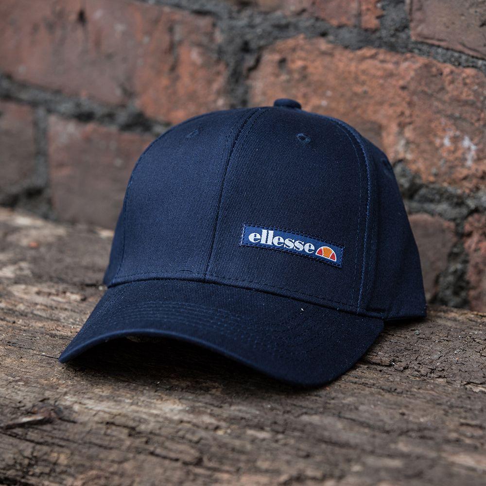 d9dee82d1 The Ellesse Lazio Curved Snapback Cap in navy. | FOOTASYLUM x ...