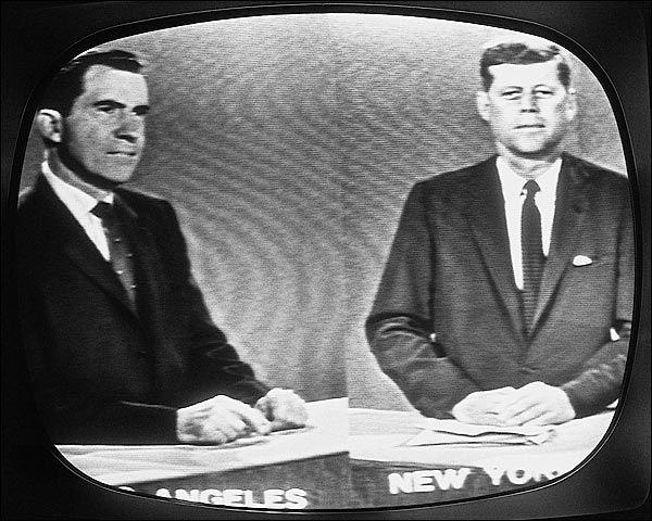 Kennedy Nixon Televised Presidential Debate Photo Of The Televised