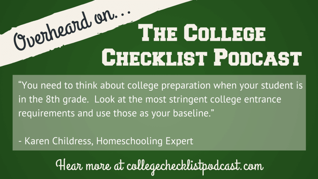 Getting Homeschooled Students Into College College