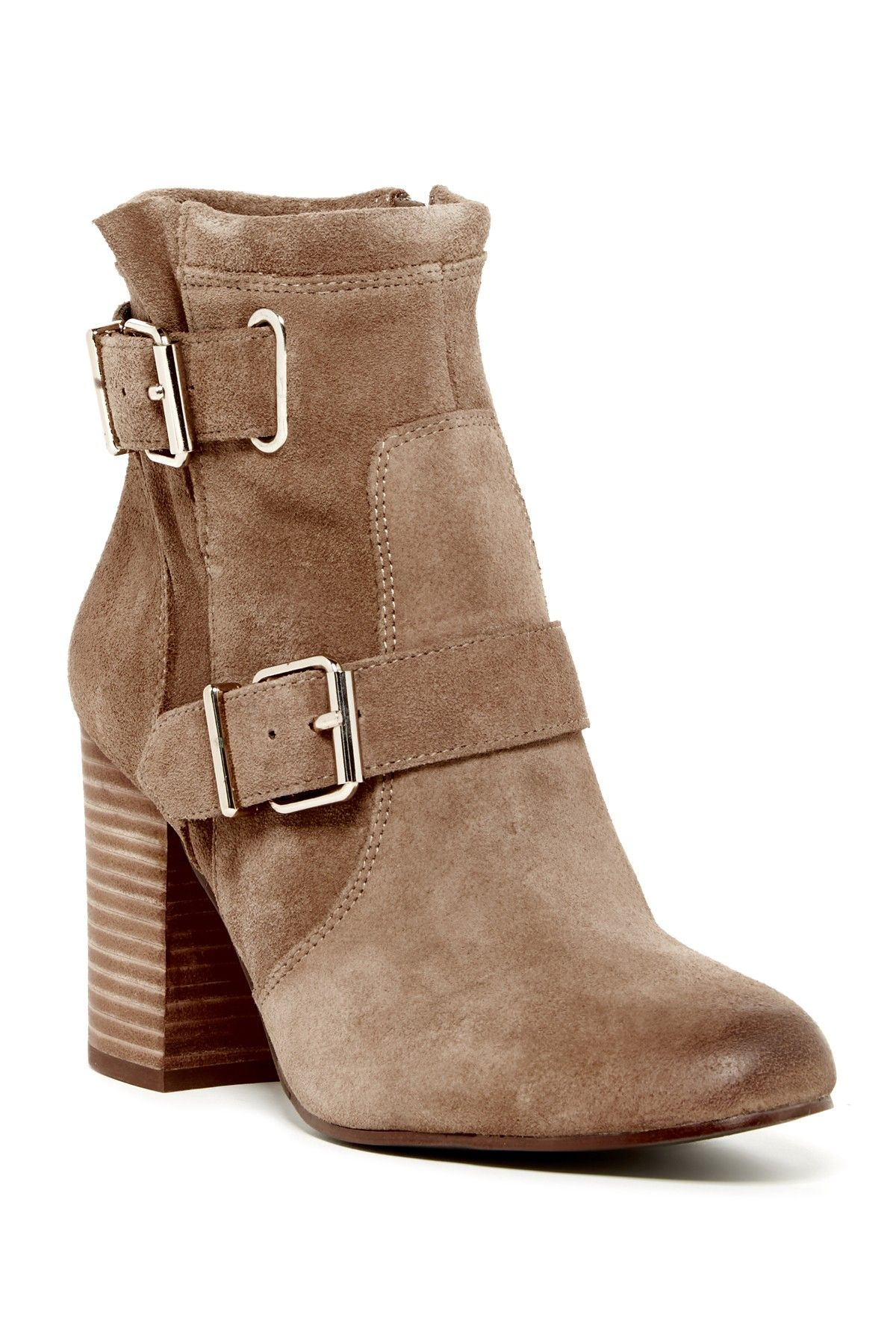 fcccddb5189e9 Vince Camuto | Simlee Buckle Bootie | shoes | Buckle ankle boots ...