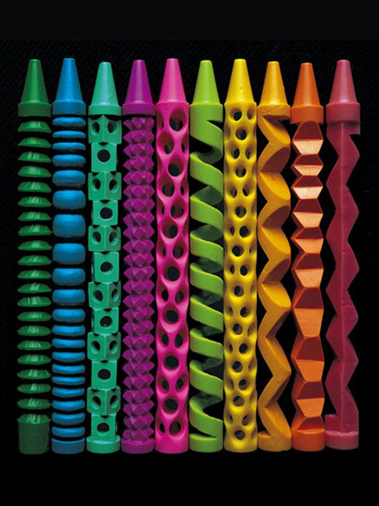 Pete Goldlust's Sculptural Crayons   American Craft Council