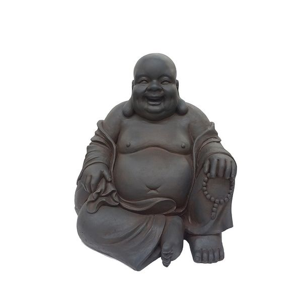 Buddha Sitting Large(Polyresin), Outdoor Décor #buddhadecor