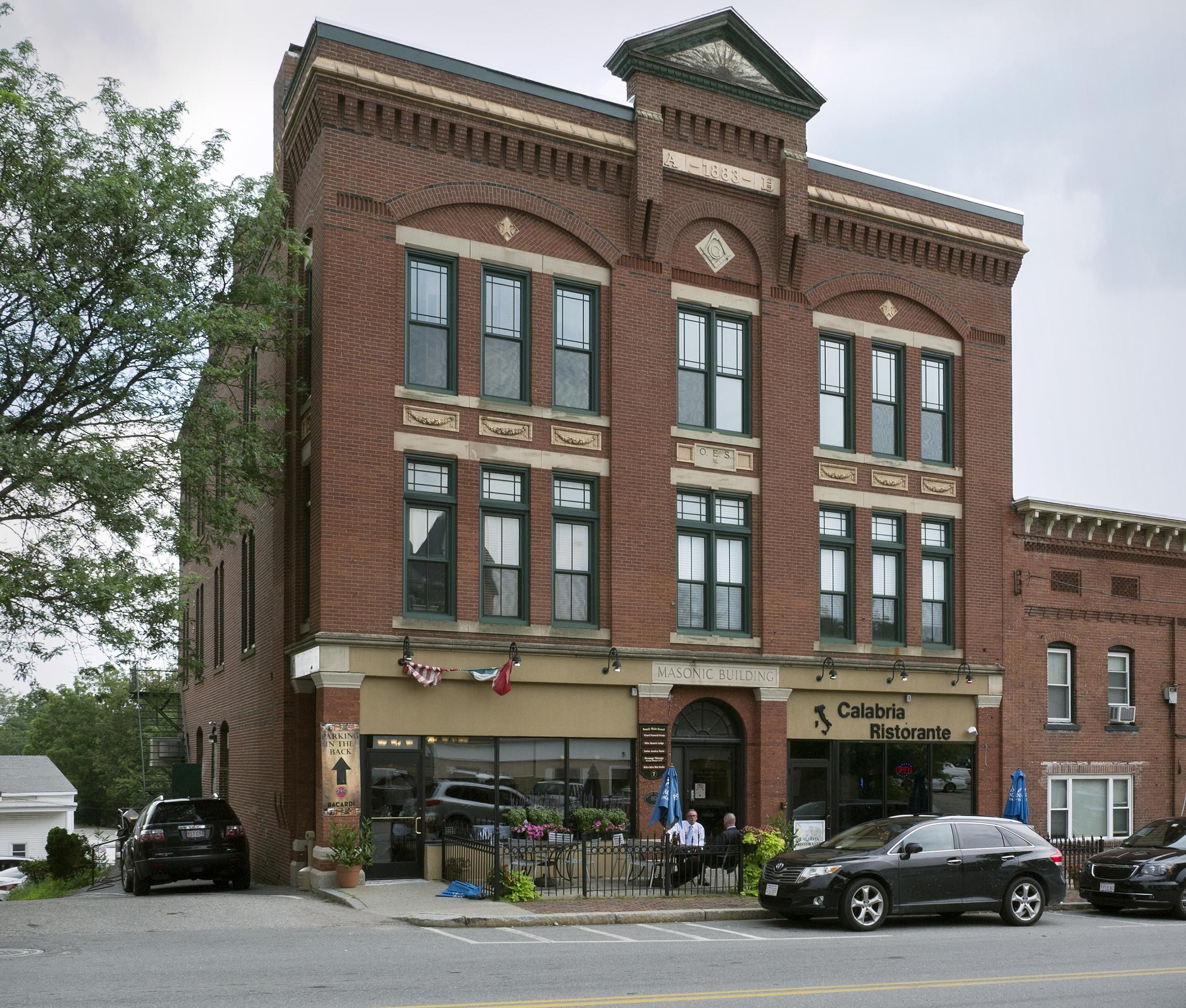 Main Building Group Pictures: Then & Now: 7 South Main St., Millbury