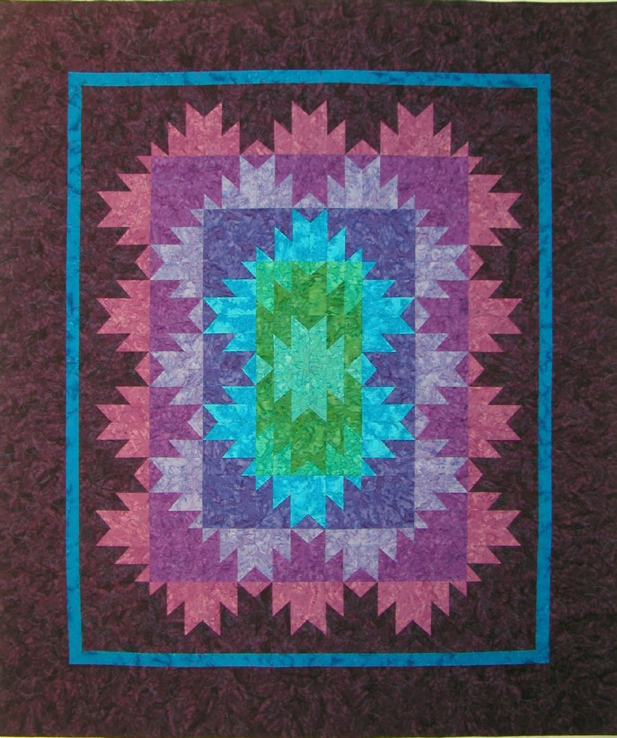 Granny Square Quilt Block Pattern | The Quilt Company featuring ... : karen montgomery quilt patterns - Adamdwight.com