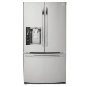 Lg Electronics 19 8 Cu Ft French Door Refrigerator In Stainless Steel Counter Depth Lfx21976st French Door Refrigerator French Doors Door Design