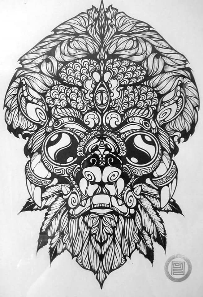 Pin by Julie Andri on ideas 2 Pattern tattoo, Dark