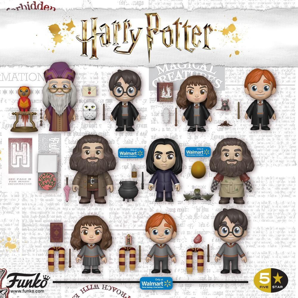 Harry Potter 5-Star Vinyl Figure Ron Exclusive 8 cm Funko Mini figures