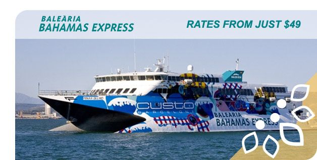 Balearia Fast Ferry Day Trip To Bahamas From Port Everglades T - Discovery sun cruise ship