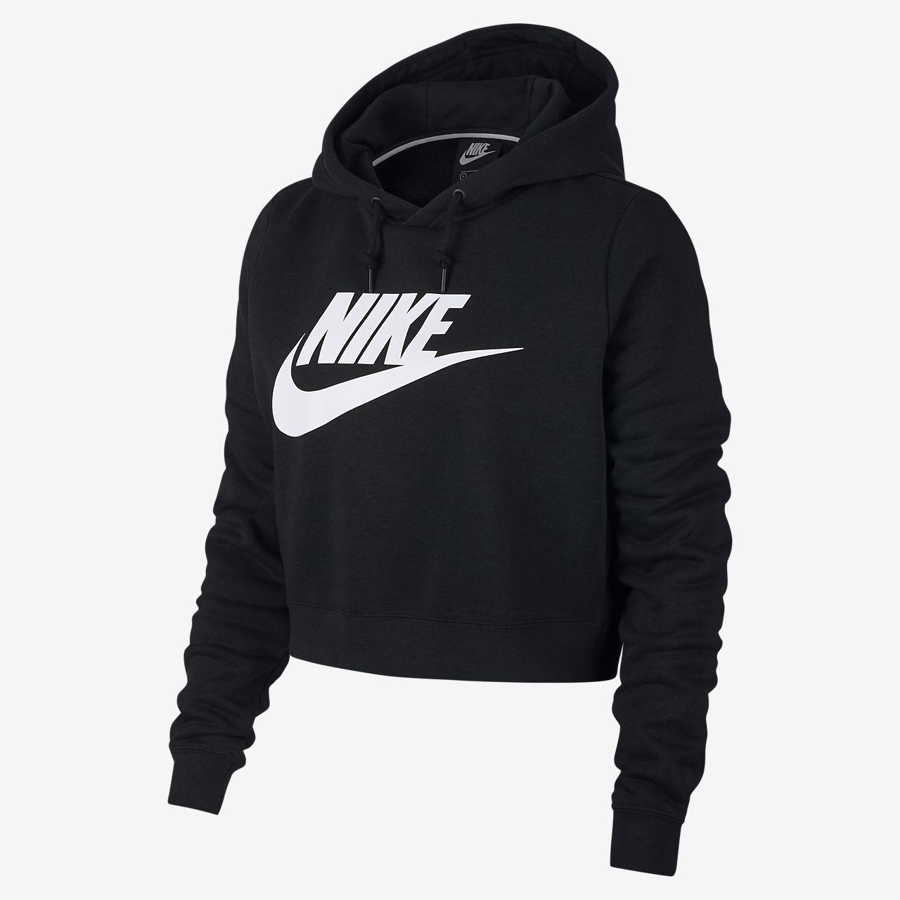 Nike Sportswear Rally Women's Cropped Hoodie in 2019 | Nike