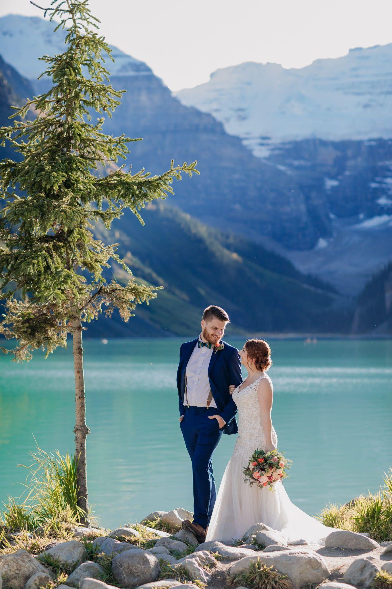 Pin on Lake Louise Weddings, Elopements & Engagements