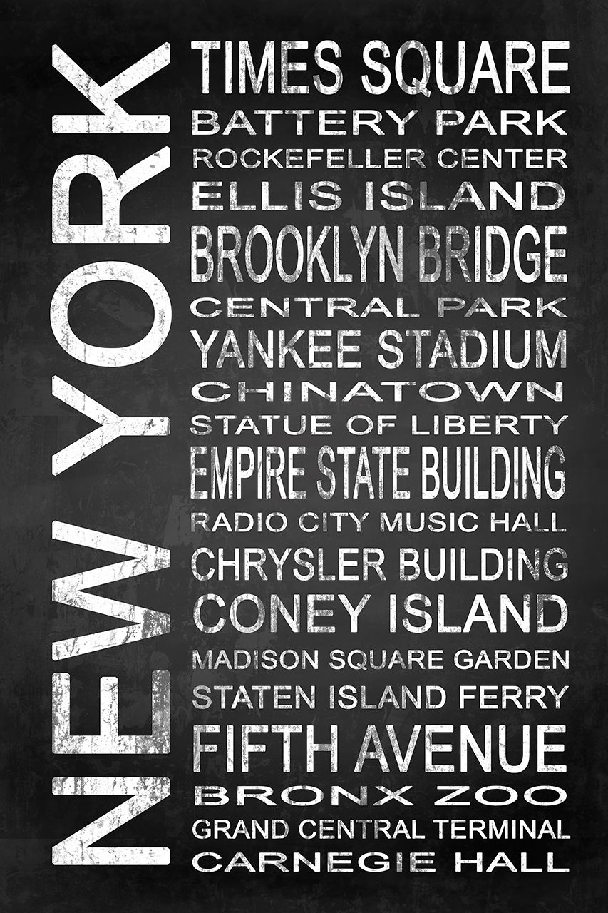 SUBWAY New York 1 by Melissa Smith – Urban Art District. | Embrace your love for New York with a modern canvas or framed subway sign. It's chalkboard design suits any wall color, easily complimenting your living space. SHARE if you ♥ it!