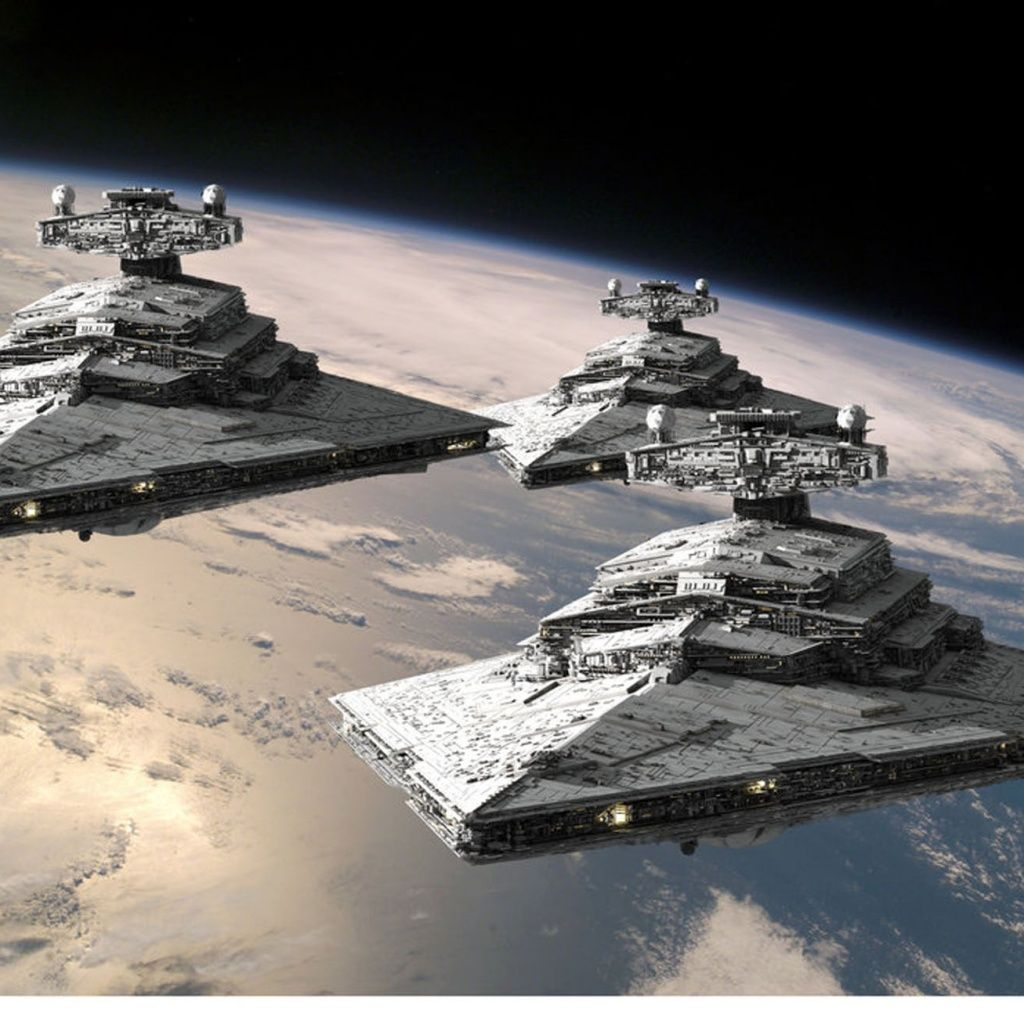 star destroyers on the way | ciència-ficció, de sempre i per
