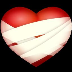 Bandaged Heart Icon Png Clipart Image Iconbug Com Heart Icons Clip Art Heart Images