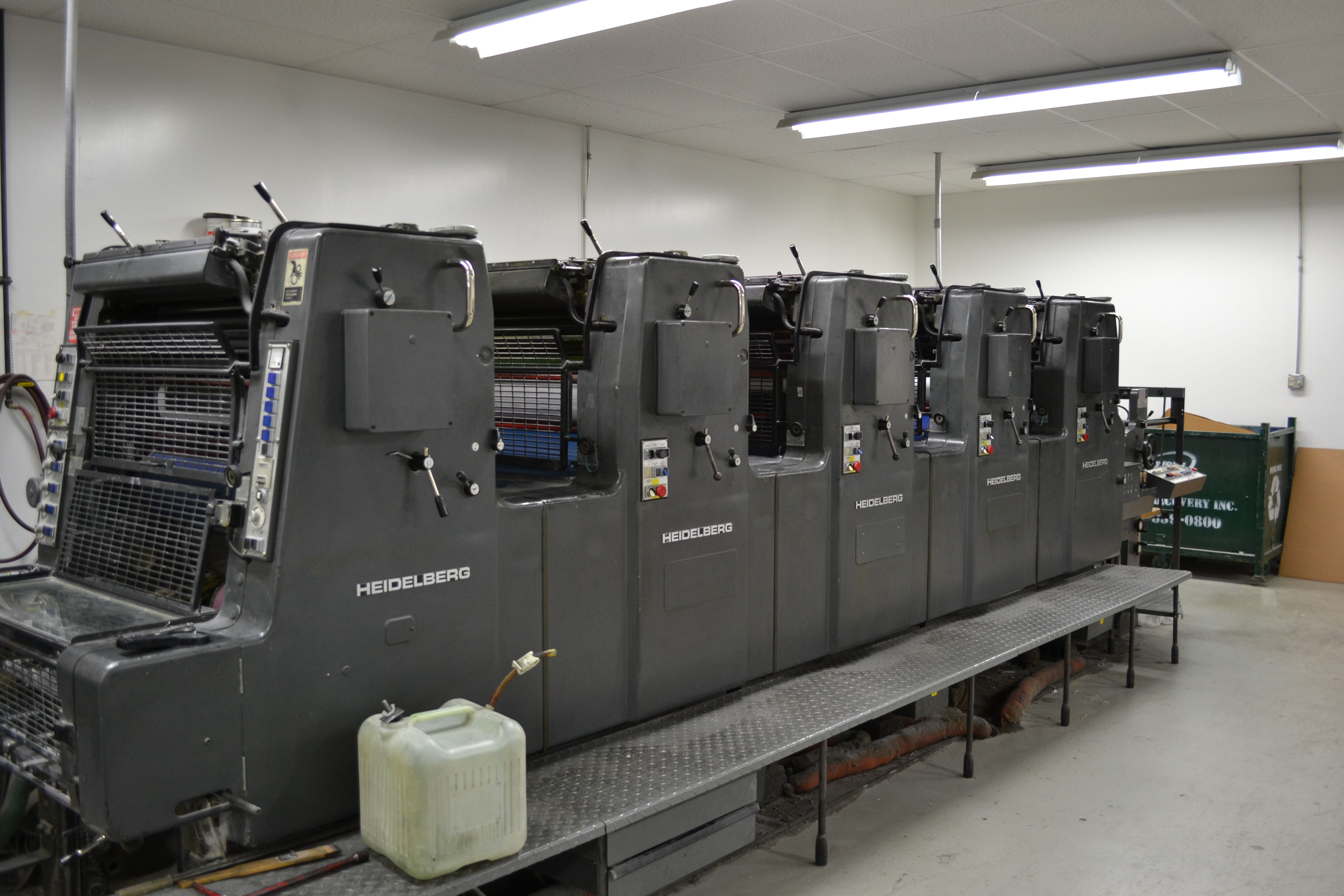 Heidelberg MO 5 Color Press | Press-ing Issues | Pinterest | More ...