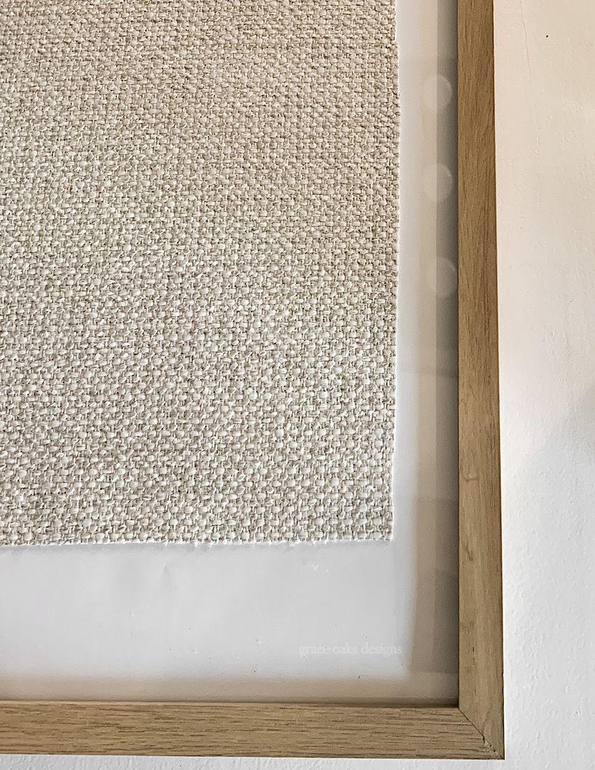 DIY TEXTILE ART - EASY & INEXPENSIVE ART USING FABRIC