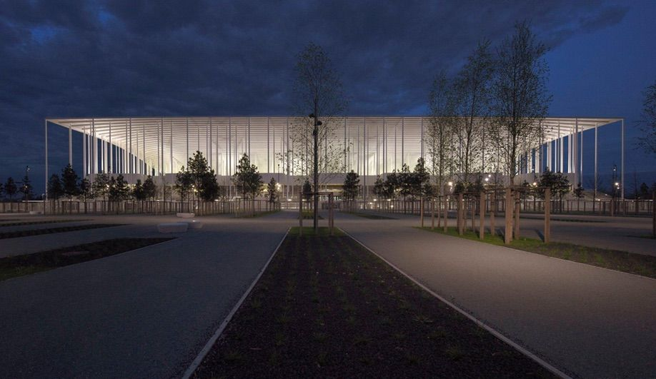 New Bordeaux Stadium by Herzog & deMeuron, in Bordeaux, France