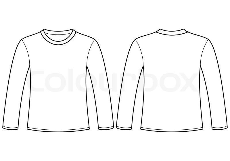Tshirtfunky Com Plantillas De Camiseta Camisetas De Manga Larga Mangas Largas