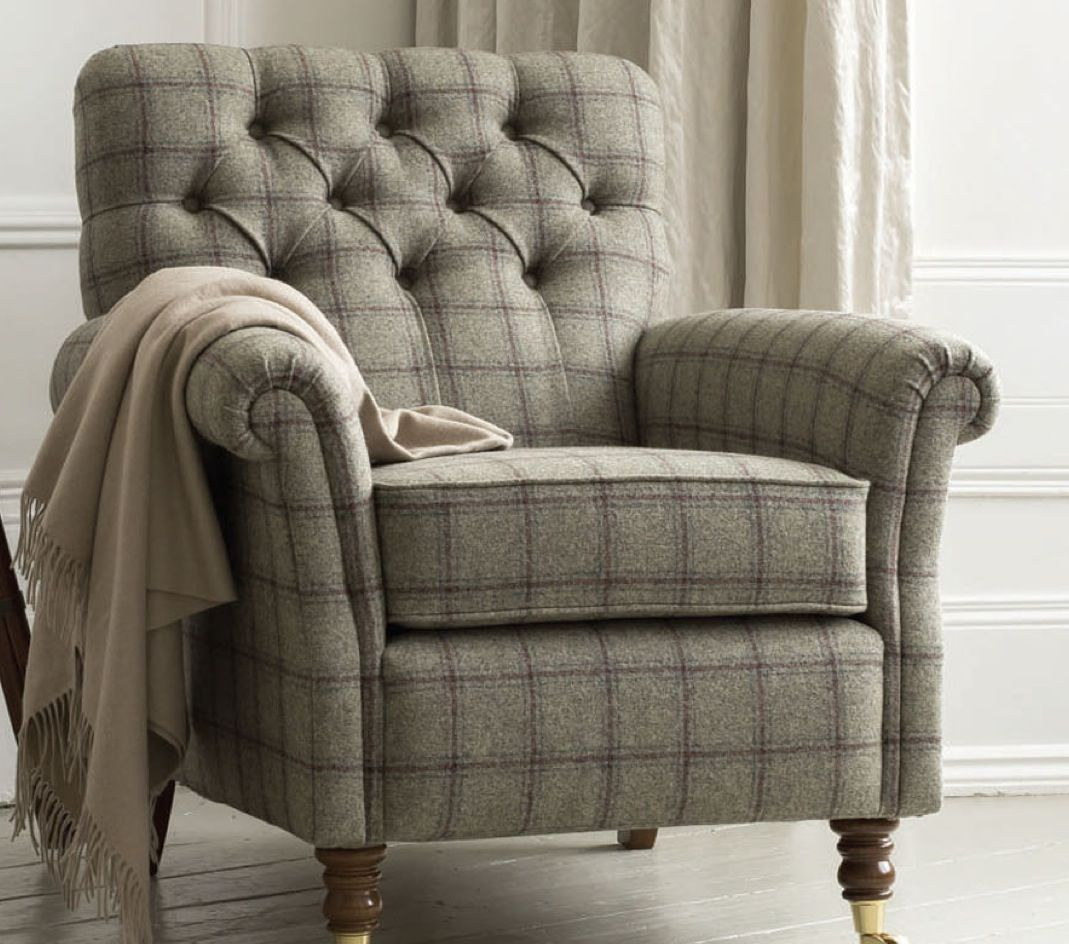 Tweed Chair Beautiful Home Pinterest Armchairs