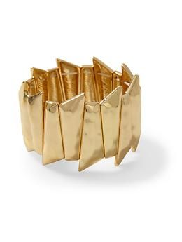 Hive & Honey Geometric Stretch Bracelet   Piperlime